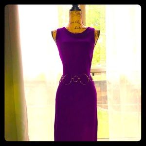 💐🌹NY & Co. Purple Midi Dress💐